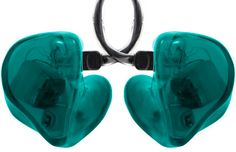 Teal Shells - Alclair Custom In-ear Monitors