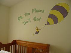 dr seuss nursery | Dr Seuss Nursery Mural | Flickr - Photo Sharing!