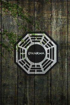 The Dharma Initiative #iPhoneWallpaper