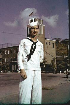 Vintage color slide-1948 from mike leavenworth on flickr Family Album, Sailors, Vintage Colors, Memories, Retro, Fashion, Bridal Gowns, Boyfriends, Memoirs