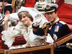 Prince Charles & Princess Diana - Wedding Day