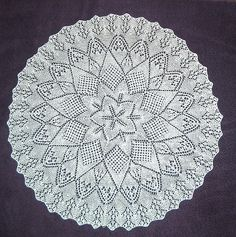 mom's doily by somhill, via Flickr