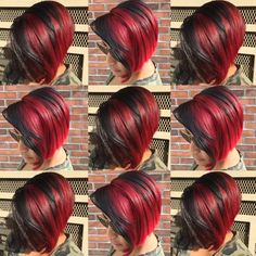 absolutely gorgeous multi dimensional color bright red