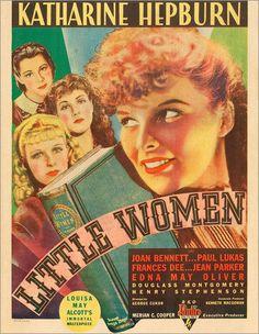 Poster-toile-Little-women-from-rear-left-Frances-Dee-Jean-park
