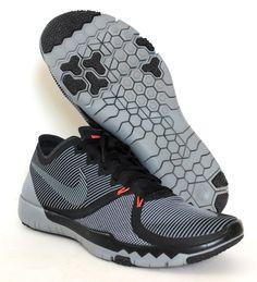 Nike Men's Free Trainer 3.0 V4 Training Shoes 749361 001 Black/Cool Grey Size 13 #Nike #RunningCrossTrainingSneakers