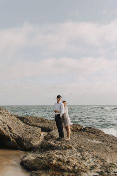 Montage Laguna Beach Engagement Photos | Laguna Beach Wedding | Engagement Photo Outfits | Candid Engagement Photos | Spring Engagement Session #couple #engagement #engagementphotos #engaged #california #oc #lagunabeach