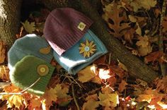 Transform old sweaters into hats for the family with this fun DIY project for Sweater Hats!