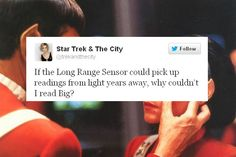 Star Trek and The City
