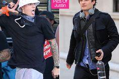 """""""Hún var góð"""" – Justin Bieber ögrandi við Orlando Bloom"""