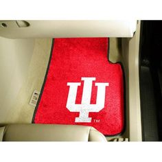Indiana Hoosiers NCAA Car Floor Mats (2 Front)