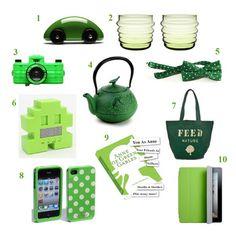 Green gifts for St. Patty & beyond!  @styelisthome @feedprojects @lomography @teavana @urbanoutfitters @marimekko