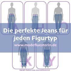 Die perfekte Jeans für jeden Figurtyp - Modeflüsterin - Stil für starke Frauen über 40 Plus Size Tips, Plus Size Fashion Tips, Trend Council, Asics Fashion, Beste Jeans, Boyfriend Jeans Outfit, Shapes And Curves, Catwalk Models, Perfect Fall Outfit