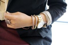 LOVE the Lizzie Fortunato On the Road bracelets