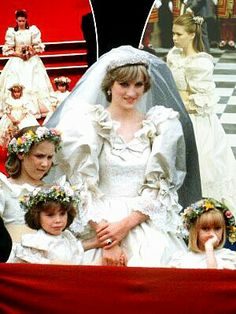 princess diana in thornbury Charles And Diana Wedding, Princess Diana Wedding, Prince Charles And Diana, Princess Diana Family, Princess Of Wales, Bridal Gowns, Wedding Dresses, Thing 1, Lady Diana Spencer