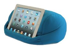 LAP PRO - Stand/Caddy Universal Beanbag Lap Stand Tablet Accessory for iPad Air, iPad 1, iPad 2, iPad 3, iPad 4 & all Android Tablets, E-Readers, Books & Google Devices. Renegade Concepts. MyLapPro.  $25.50