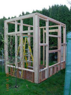 Framed Greenhouse