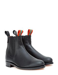 CHELSEA BOOT LEATHER, BLACK - CHELSEA BOOT LEATHER