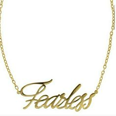 Fearless necklace Be Fearless by Adia Kibur. Make a statement In this stunning metal alloy necklace. Adia Kibur Jewelry Necklaces