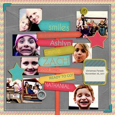 #papercraft #scrapbook #layout    Would be cute used on travel page too