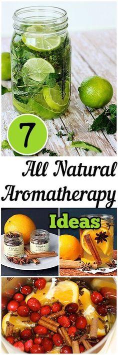 7 all natural aromatherapy ideas. Natural, DIY, natural remedies, natural remedies, health and beauty, DIY makeup.