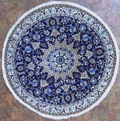 Persian Carpet Blue Rug Iranian Rugs Runes West Columbia