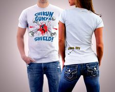 Custom t-shirts can have an impact everywhere by informing people of chikungunya