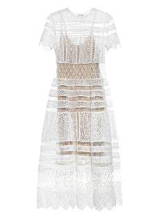 Riot Eyelet bell dress | Zimmermann | MATCHESFASHION.COM