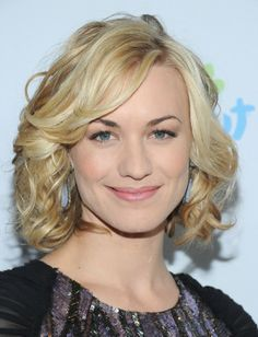 Yvonne Strahovsky. Words cannot describe how awesome she is...So here's a picture!
