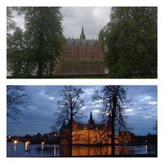 hannehappel via @frametastic#Frederiksborg Slot #