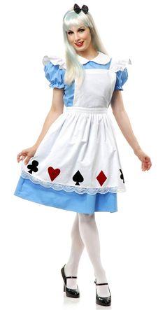 Alice in Wonderland Costume Adult Halloween Fancy Dress , Costume Halloween, Costume Alice, Alice Halloween, Halloween Fancy Dress, Adult Halloween, Funny Halloween, Women Halloween, Halloween 2019, Alice Fancy Dress