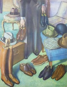 A man like Vicente would've had many pairs of shoes to choose from