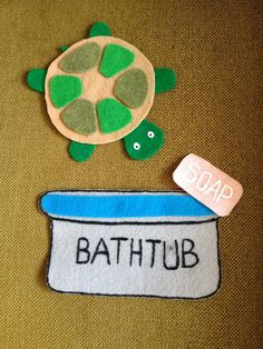 The Show Me Librarian: Flannel Friday: I Have a Little Turtle Flannel Board Stories, Felt Board Stories, Felt Stories, Flannel Boards, Circle Time Activities, Book Activities, Toddler Activities, Preschool Songs, Preschool Activities