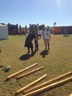 Kids Area Scottish Highland Games Photo by Alf Penland