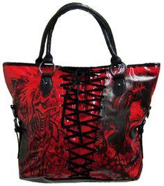 Iron Fist American Nightmare Bag Purse (Red)