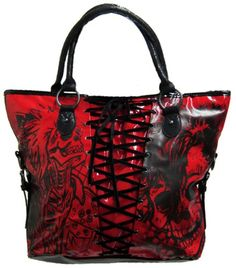 Iron Fist American Nightmare Bag Purse (Red)