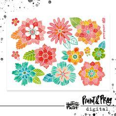Flower-full | Bible Journaling Printable Ephemera by Illustrated Faith Always Tattoo, Scripture Reading, Word Nerd, Faith Bible, Illustrated Faith, Crafty Craft, Flower Designs, Pray, Tapestry