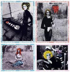 DADDY Jeu complet de 21 photos d'exploitation couleur d'époque (24x29,5 cm) du film de Niki de Saint Phalle (1973).  Adjugé 13 500 €.