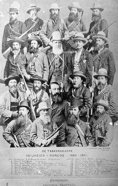 First Boer war chief-of-staff 1880