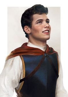 The Prince (Prince Florian) from Snow White and the Seven Dwarves - Realistic Disney characters by Finnish artist, Jirka Väätäinen Walt Disney, Disney Pixar, Disney And Dreamworks, Disney Magic, Disney Characters, Disney Men, Funny Disney, Disney In Real Life, Disney Love