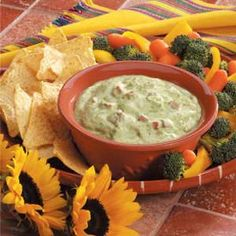 Light Guacamole. Use ff Greek yogurt in place of the sour cream. 2 WW points per quarter cup.