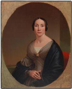 Ann Eliza Moserman Brooks (Mrs. John Brooks) 44.302.3 Shepard Alonzo Mount (1804-1868) Ann Eliza Moserman Brooks (Mrs. John Brooks) DATE:ca. 1845 This oval portrait depicts Mrs. John Brooks, one of the partners and brothers of Brooks Brothers department store.