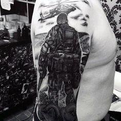 Military Tattoos For Men Memorial War Solider Designs Intended For Military Tattoo Pertaining To Tattoo Art Tribal Tattoos, Tattoos Mandala, Army Tattoos, Military Tattoos, Tattoos Skull, Trendy Tattoos, Body Art Tattoos, New Tattoos, Tattoos For Guys