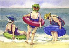 Beach Ladies series by Lynn Greer