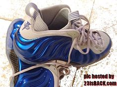 Nike Air Foamposite One basketball shoes Penny Hardaway Sneakers, Foam Posites, Nike Huarache, Basketball Shoes, Royal Blue, Nike Air, Kicks, Sneakers Nike, Stuff To Buy