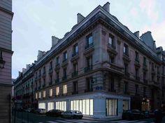 Yohji Yamamoto store at Paris