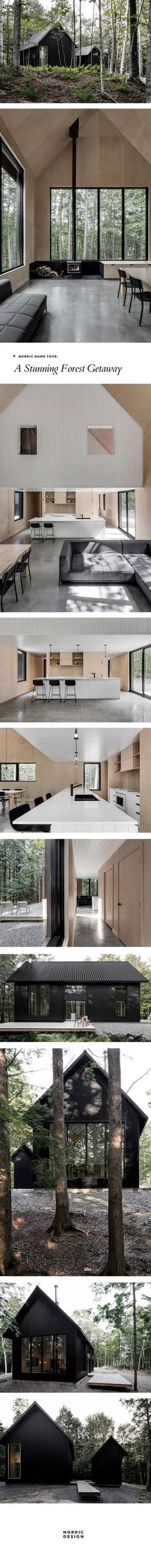 Nordic home tour: A Stunning forest getaway | NORDIC DESIGN