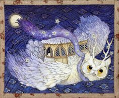 Fly Me to the Moon(drawing) by ARTION , via Behance