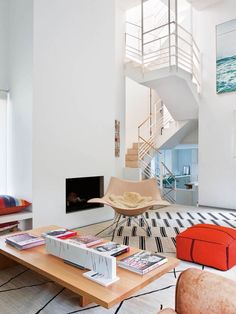 Uma Casa Colorida em Madrid.