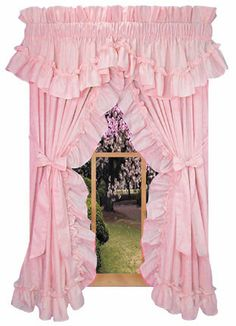 Image detail for -BJ'S Country Charm - Ruffled Curtains, Priscilla Curtains, Ruffled ...