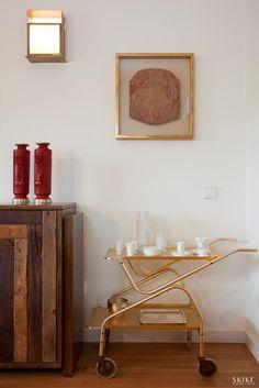 House in Porto II, Dining room corner | Photo by: Francisco Rivotti | Porto | Skike Design